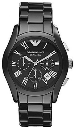 Emporio Armani Ceramic 3 Hand Chronograph Watch