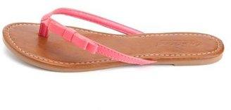 Charlotte Russe Double Bow Classic Flip Flop