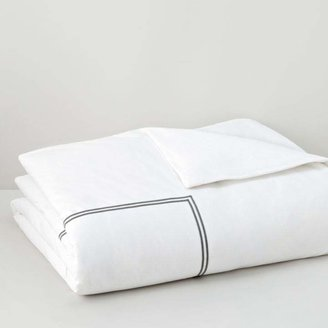 Italian Percale Twin Duvet Cover - 100% Exclusive