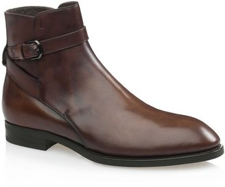Tod's Leather Ankle-Strap Boots