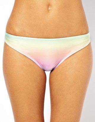 Asos Pastel Ombre Hipster Bikini Pant - Multi