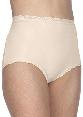 Cotillion Nylon Lace-Trim Brief