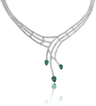 Mozafarian Emerald Necklace