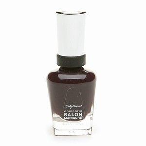 Sally Hansen Complete Salon Manicure Nail Polish, Pat on the Black