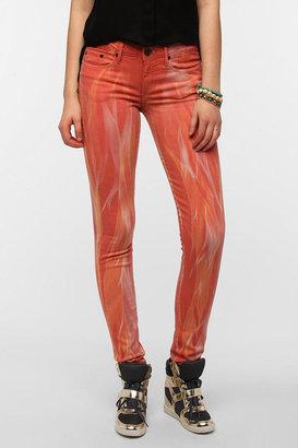 Urban Outfitters THVM Mid-Rise Skinny Jean - Poppy Tie-Dye
