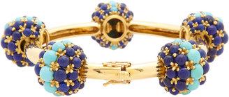 Lapis Mahnaz Ispahani Vintage Turquoise & Bubble Bracelet