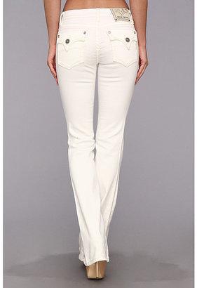 MEK Greenwood Slim Bootcut Jean in White