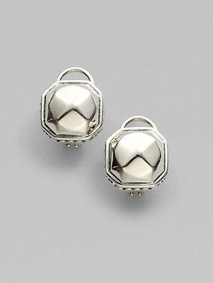 Lagos Sterling Silver Rocks Stud Earrings