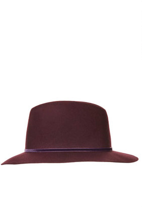 Topshop Clean Edge Fedora Hat