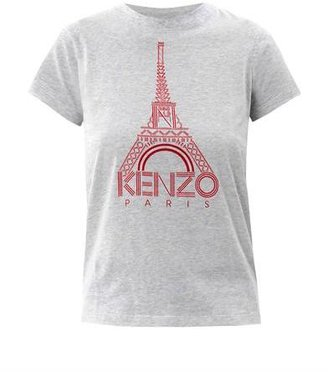 Kenzo Eiffel Tower logo T-shirt