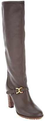 Chloé buckled knee high boot