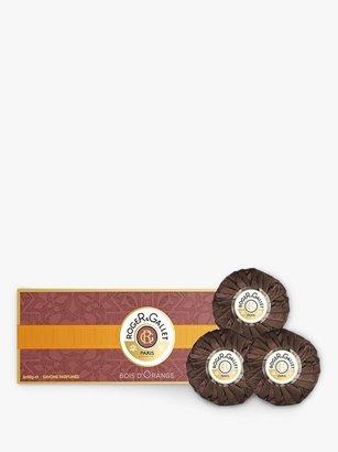 Roger & Gallet Bois D'Orange Perfumed Soap Gift Set, 3 x 100g