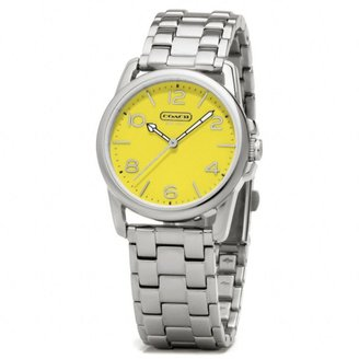 Coach Sydney Stainless Steel Bracelet Watch