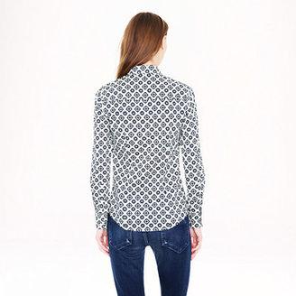 J.Crew Perfect shirt in foulard
