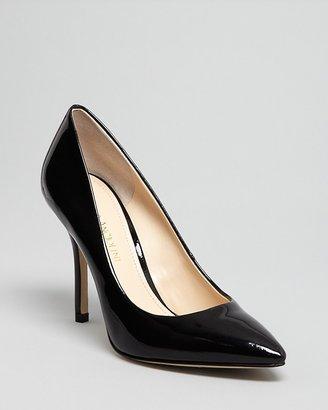 Enzo Angiolini Pointed Toe Pumps - Persist High Heel