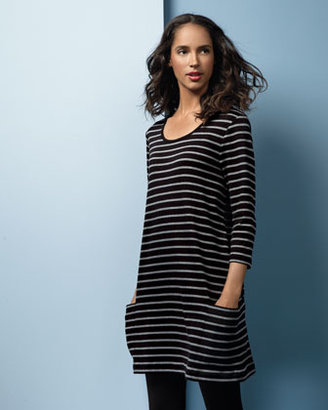 Joan Vass Striped Tunic