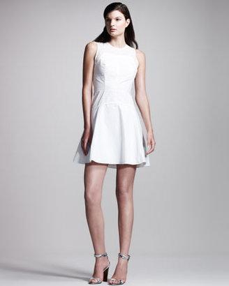 Proenza Schouler Sleeveless Poplin Dress