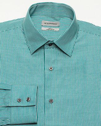 Le Château Stripe Cotton Slim Fit Shirt