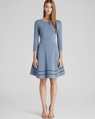 Reiss Dress - Didsbury Knitted Fit & Flare