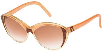 Yves Saint Laurent Pre-Owned Cat Eye Sunglasses