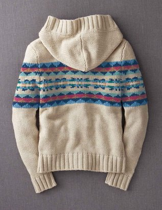 Boden Chunky Hooded Cardigan