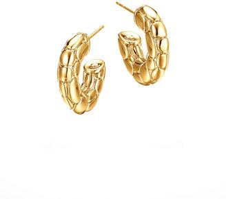 John Hardy 18k Gold Kali Small Hoop Earrings