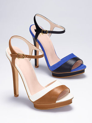 Victoria's Secret Collection Contrast-strap Sandal