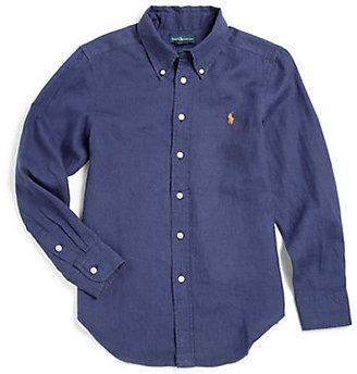 Ralph Lauren Boy's Blake Linen Shirt