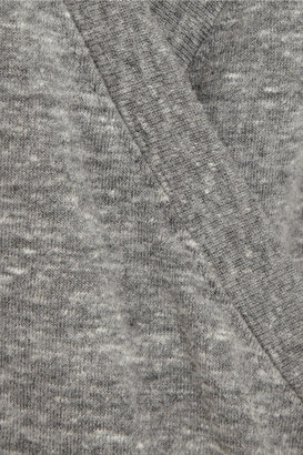 OAK Karate wrap-effect jersey T-shirt