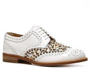 Dolce & Gabbana Patent Leather Studded Oxford