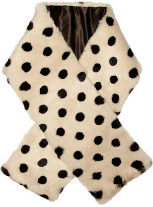 Marc by Marc Jacobs Deco Dot rabbit scarf