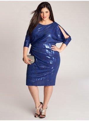 IGIGI Margaux Plus Size Dress in Electric Blue