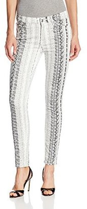 7 For All Mankind Women's Ankle Skinny Jean In print