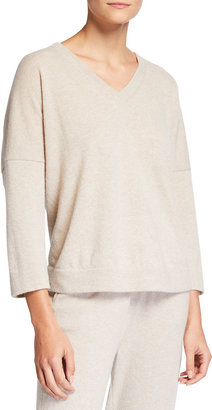 Tse For Neiman Marcus Recycled Cashmere V-Neck Sweater