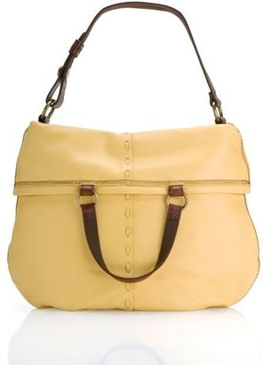 Lucky Brand Bandit Leather Foldover Bag