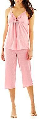 Betseyville by Betsey Johnson Cami and Capris Pajamas