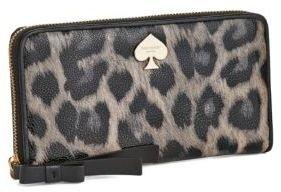 Kate Spade Leroy Street Animal Print Lacey Wrist Wallet