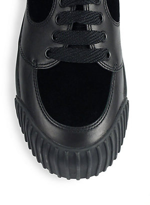 Marc by Marc Jacobs Leather & Suede Lace-Up Sneakers