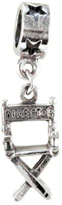 Prerogatives Sterling Director's Chair Dangle Bead