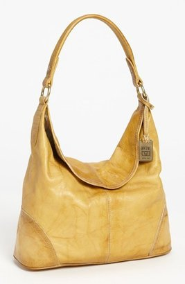 Frye 'Campus' Leather Hobo - Yellow $328 thestylecure.com