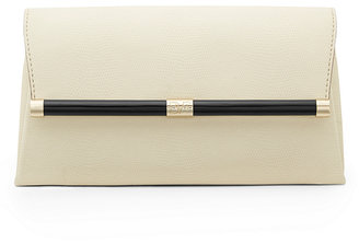 440 Envelope Embossed Lizard Clutch $198 thestylecure.com