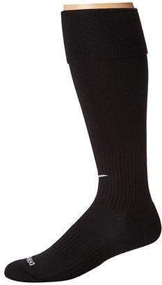 Nike Soccer Classic Sock (Black/(White)) Knee High Socks Shoes