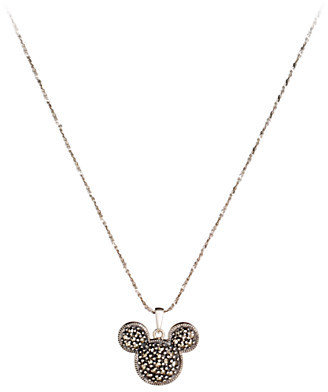 Disney Mickey Mouse Icon Marcasite Necklace by Judith Jack