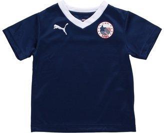 Puma Kids - USA Country Tee (Toddler) (Estate Blue) - Apparel