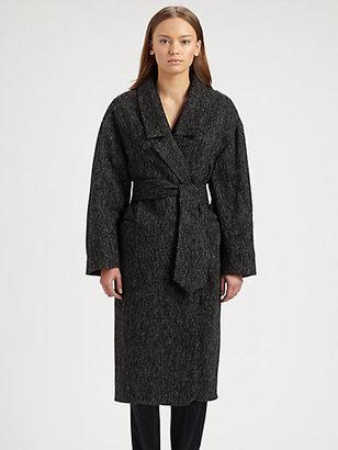 Christophe Lemaire Tweed Coat