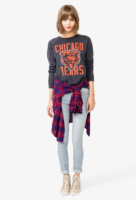Forever 21 Chicago Bears Logo Sweatshirt