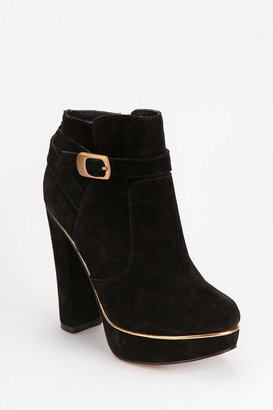 Urban Outfitters Deena & Ozzy Laura Suede Ankle Boot
