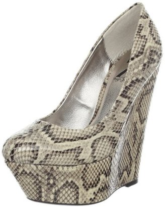 Sergio Zelcer Women's Honey Wedge Pump