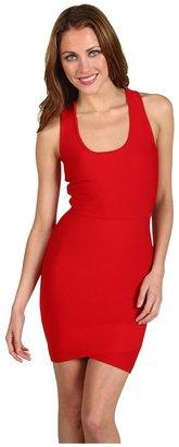 BCBGMAXAZRIA Gisela Power Tank Dress (Rio Red) - Apparel