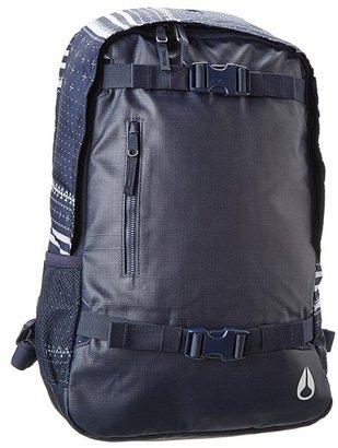Nixon Smith Skatepack II (Black) - Bags and Luggage